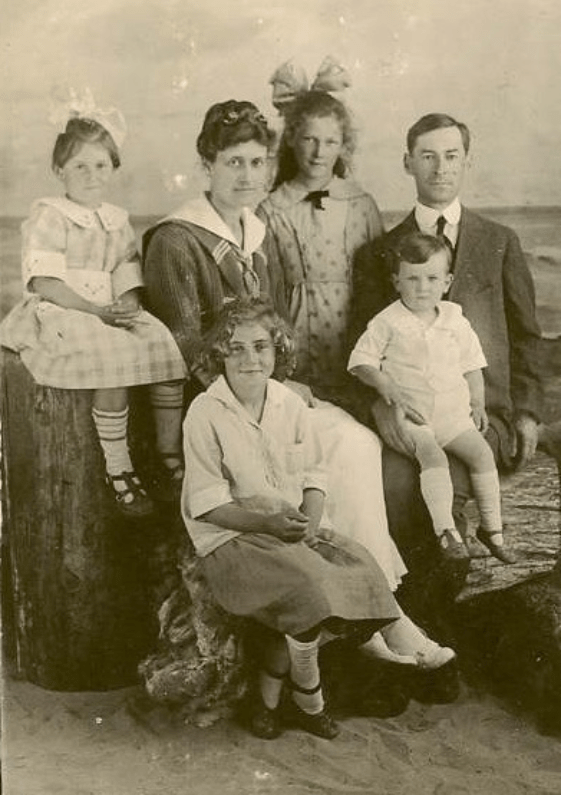 The Toll Family, circa 1892