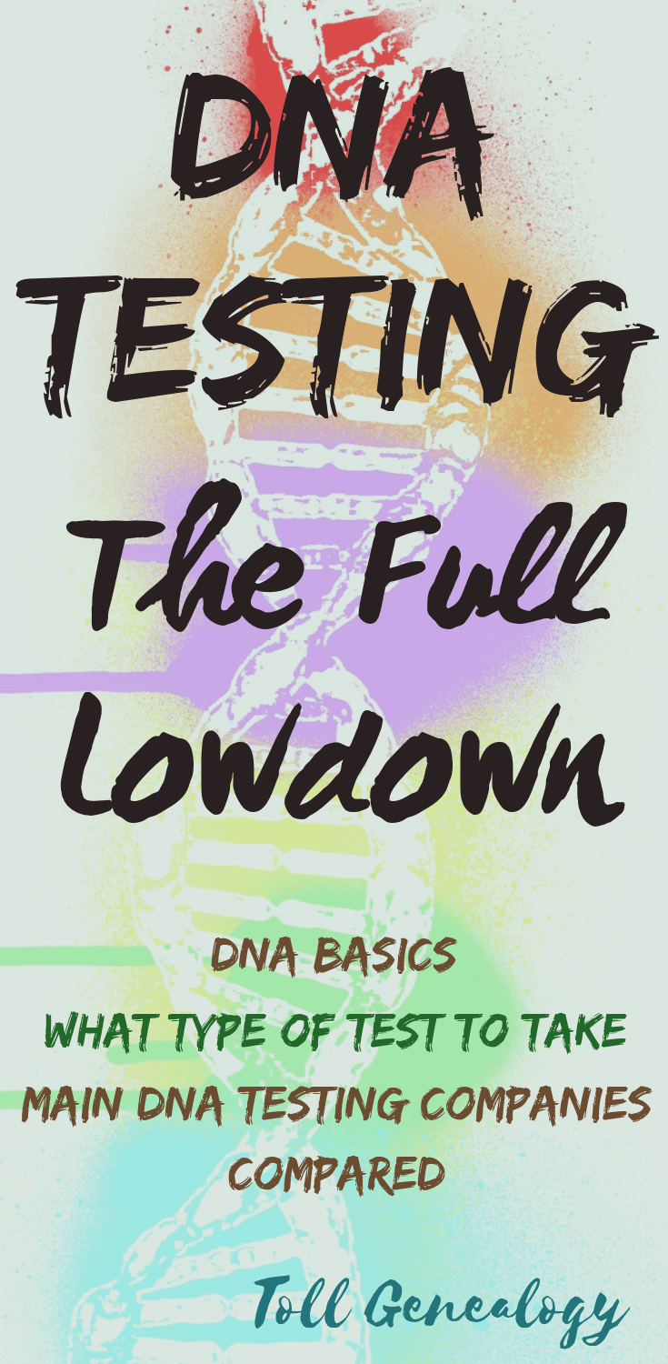DNA Test Lowdown