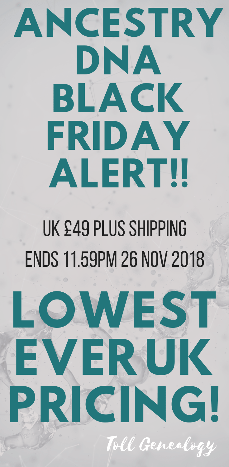 Ancestry UK Black Friday Lowest Price Ever!